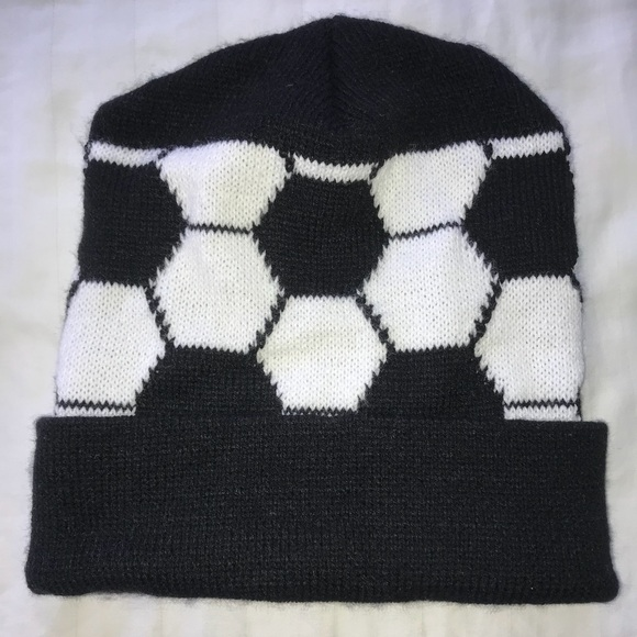 Accessories | Soccer Ball Beanie | Poshmark